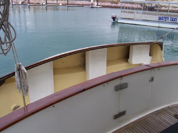 Transom & dinghy