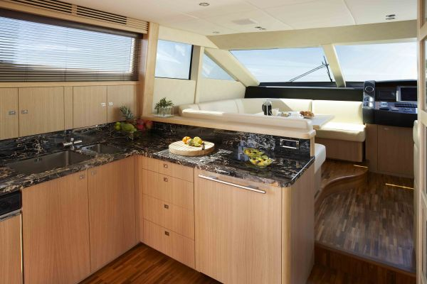 Luxury Power Yacht   97  Princess 95MY   The luxury interior design wooden  decoration andLUXURY HOUSE INTERIOR DESIGN  Luxury Yacht Princess 95MY. Princess Design Kitchens. Home Design Ideas