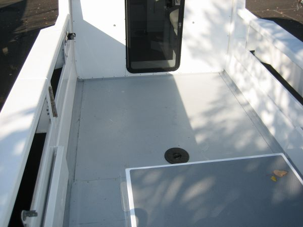 Transom and outdrive