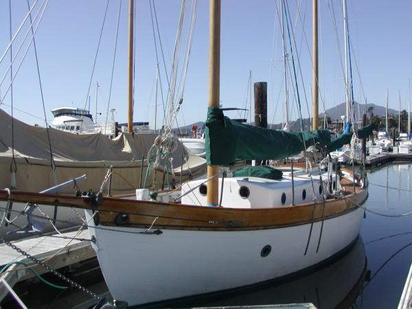 Wooden Sailboats For Sale >> Teak Tahiti Ketch Torea For Sale 9 000 00 Or Best Offer