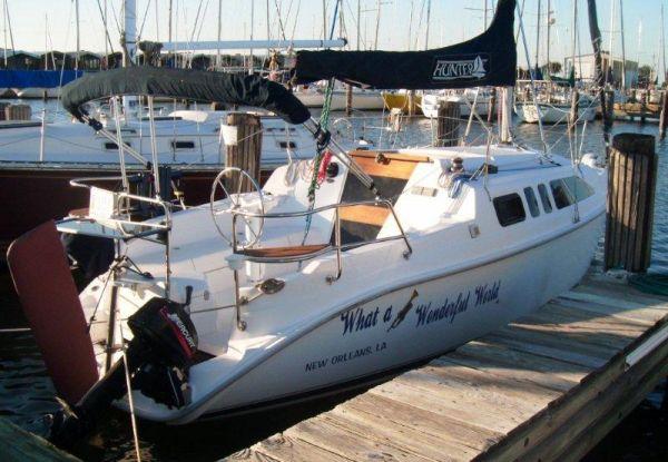 sailboat for sale including sail boat 260 hunter 260 information .