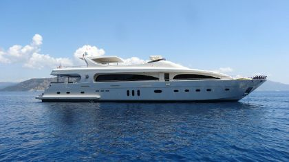 Mengi Yay Custom Built Motor Yacht