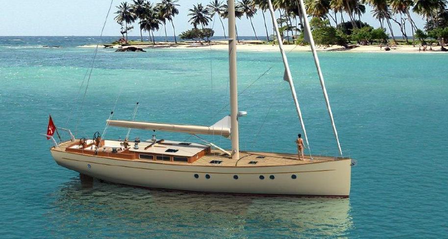 Mengi Yay Custom Sail Yacht Classic
