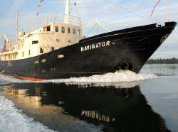 Classic Steel Motor Yacht
