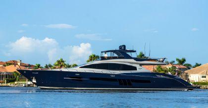 Lazzara Motor Yacht Flybridge